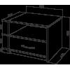 Тумба прикроватная Промтекс-Ориент Tikki Renli 3