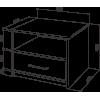 Тумба прикроватная Промтекс-Ориент Tikki Sonte 2