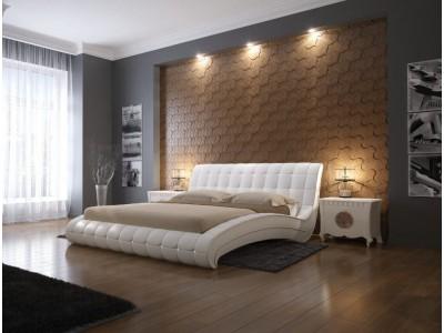 Кожаная кровать Орматек Vederi