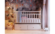 Кроватка Папа Карло 2/3 для младенцев