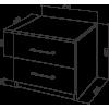 Тумба прикроватная Промтекс-Ориент Tikki Mase 1