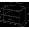 Тумба прикроватная Промтекс-Ориент Tikki Mase 2