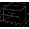 Тумба прикроватная Промтекс-Ориент Tikki Mase 3