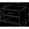 Тумба прикроватная Промтекс-Ориент Tikki Sonte 3