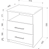 Тумба прикроватная Промтекс-Ориент Tikki Sonte 5