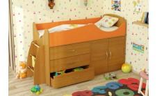 Кровать-чердак детская Карлсон Микро 201