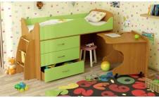 Кровать-чердак детская Карлсон Микро 203
