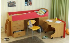Кровать-чердак детская Карлсон Мини 4