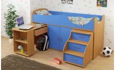 Кровать-чердак детская Карлсон Мини 7