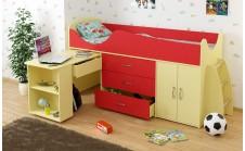 Кровать-чердак детская Карлсон Мини 8