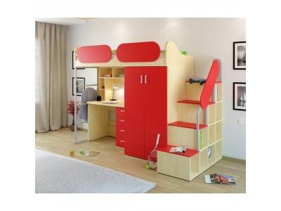 Кровать-чердак Teens home для детей и подростков 17.104