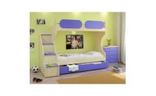 Кровать двухъярусная Teens home для детей и подростков 17.102