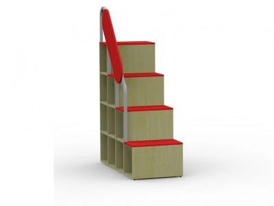 Лестница-стеллаж угловая 17.112 к кроватям Teens home
