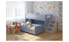 Кровать-чердак Легенда (Сказка) 23.4 с выкатной кроватью