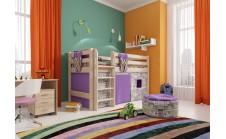 Кровать-чердак Райтон-Натура ОТТО 11 низкая