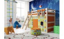 Кровать-чердак Райтон-Натура ОТТО 6 полувысокая