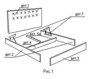 сборка боковых частей кровати